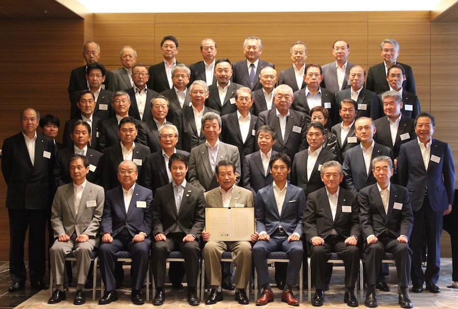 広島県商工会議所連合会にてイクボス宣言。副理事の小津が立会人をつとめました!