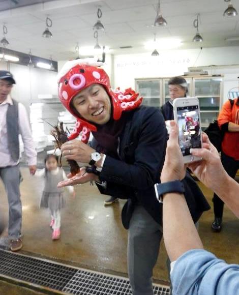 【レポート】11/18(土) 父と子のお料理教室「パパッと作っちゃお!〜第5回 長浜鮮魚市場で作ろうぜ!!〜」