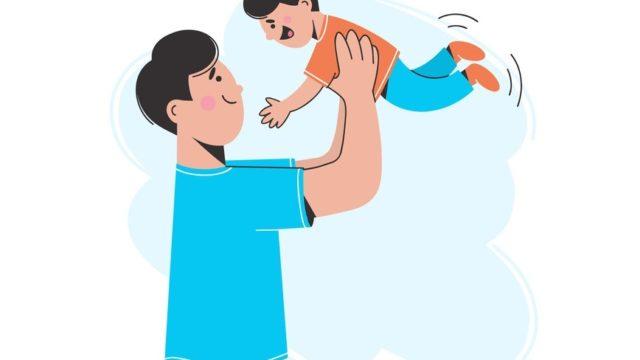 【参加者募集中】9/19(土)「パパと一緒にべびーり~ふ」(照葉公民館)